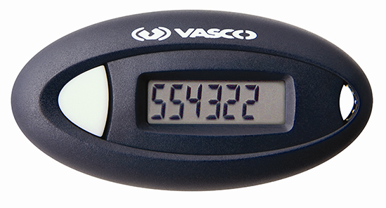 image of a device that generates a unique, constantly changing numeric passcode